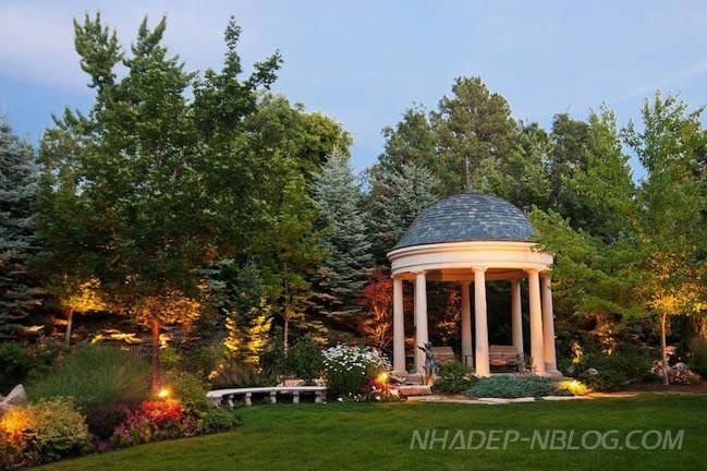 Thiết kế biệt thự vườn cổ kính sang trọng