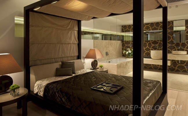 Penthouse đẹp 2 tầng với thiết kế sang trọng