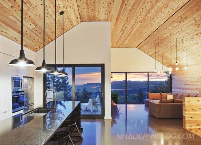 Thiết kế biệt thự gỗ đẹp tại Canada