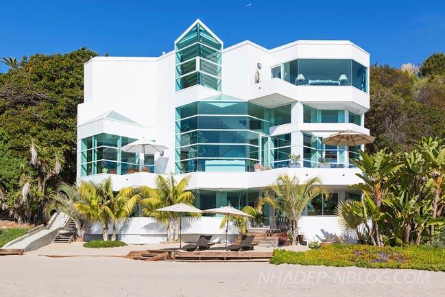 Biệt thự siêu sang tại Malibu