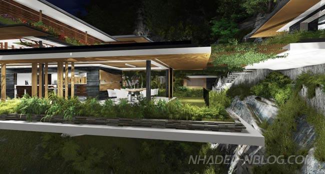 Ngôi nhà đẹp như mơ giữa thiên nhiên hùng vĩ