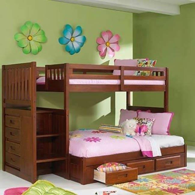 16 mẫu giường ngủ đẹp với thiết kế 2 tầng