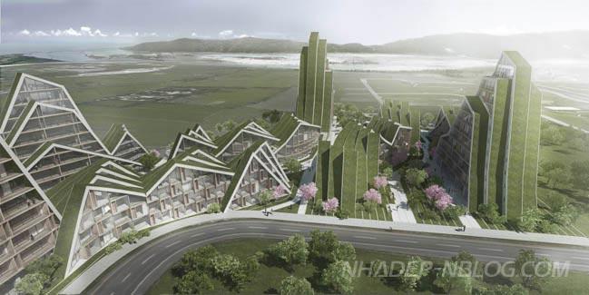Dự án căn hộ cao cấp với kiến trúc núi non hùng vĩ