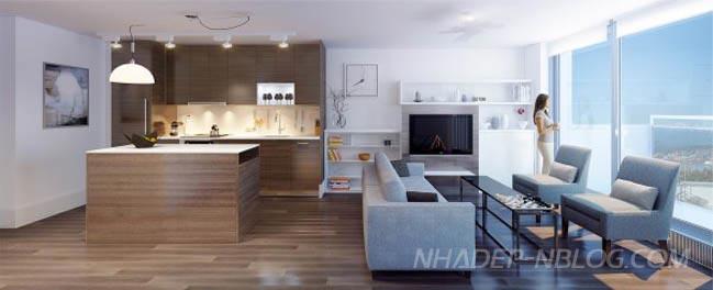 Thiết kế sáng tạo cho nhà nhỏ đẹp 1 phòng ngủ