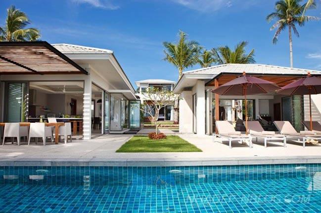 Biệt thự nghĩ dưỡng sang trọng thanh lịch tại Thái Lan