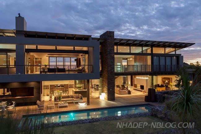 Biệt thự đẹp với không gian mở tại Nam Phi