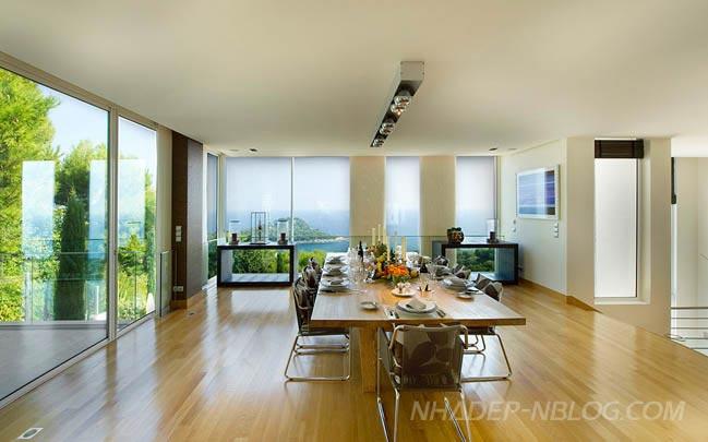 Biệt thự đẹp long lanh với không gian xanh bao phủ