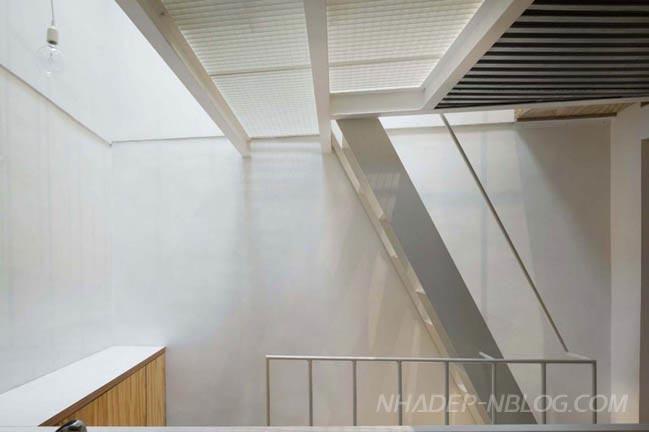 Nhà cấp 4 đẹp 2 tầng với diện tích siêu nhỏ