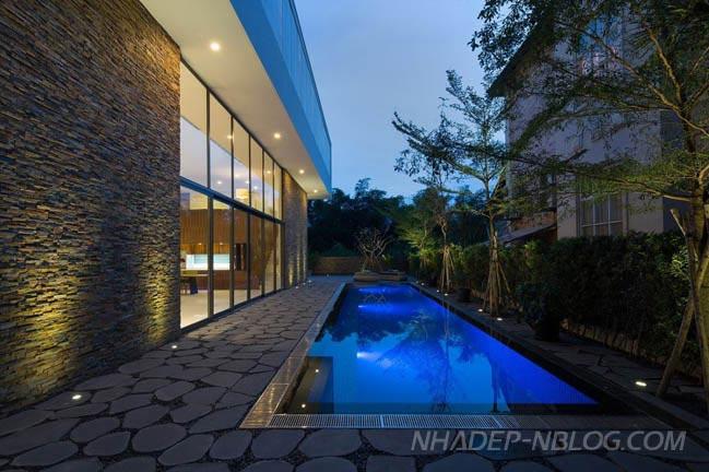 Tham quan biệt thự đẹp sang trọng tại Thảo Điền