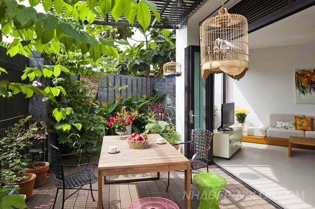 Ngắm biệt thự đẹp 4 tầng hiện đại tại Tp Hồ Chí Minh
