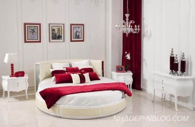 25 nội thất phòng ngủ sang trọng với chiếc giường tròn