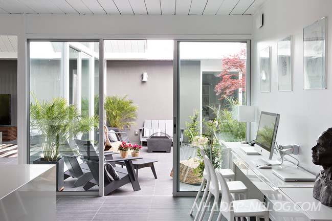 Biệt thự vườn với không gian mở tinh tế