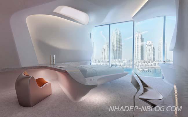 Thiết kế penthosue siêu hiện đại tại Dubai