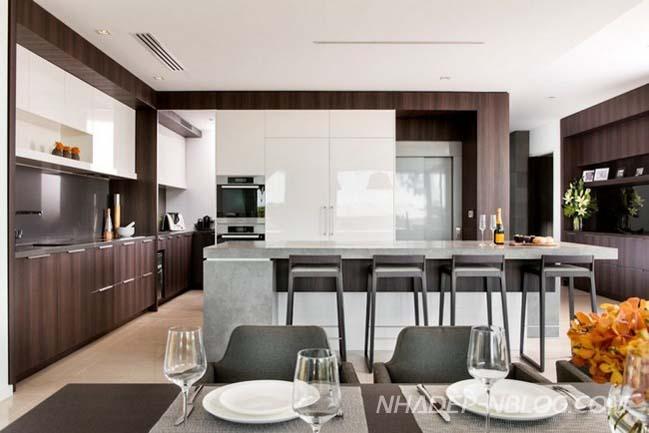 Ngôi biệt thự đẹp với thiết kế hiện đại tao nhã