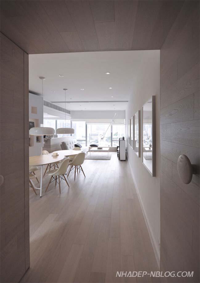 Mẫu nhà đẹp với thiết kế không gian mở hiện đại