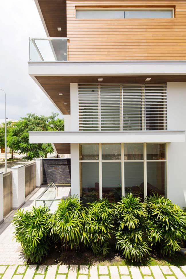Mẫu biệt thự đẹp 4 tầng tại Nam Sài Gòn