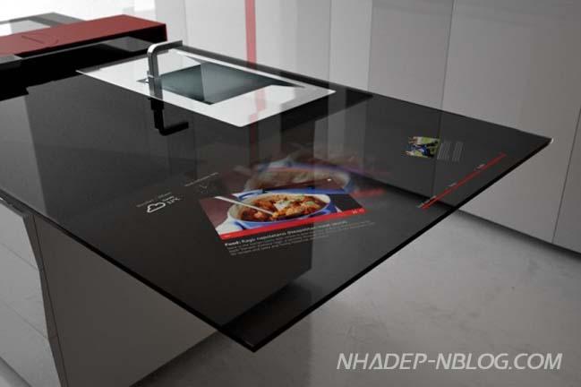 10 mẫu nội thất nhà bếp với thiết kế hiện đại