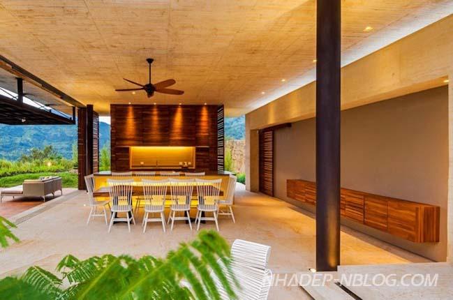 Biệt thự đẹp với không gian mở hiện đại