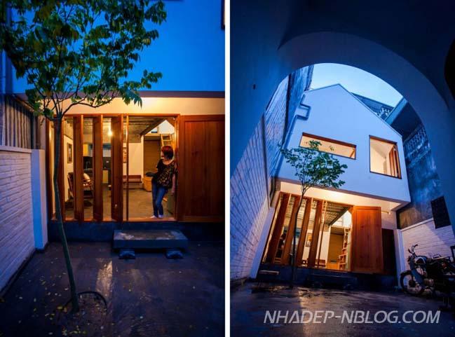 Mẫu nhà nhỏ đẹp tại Hà Nội