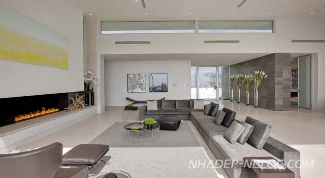 Mẫu biệt thự đẹp với nội thất mở thông thoáng