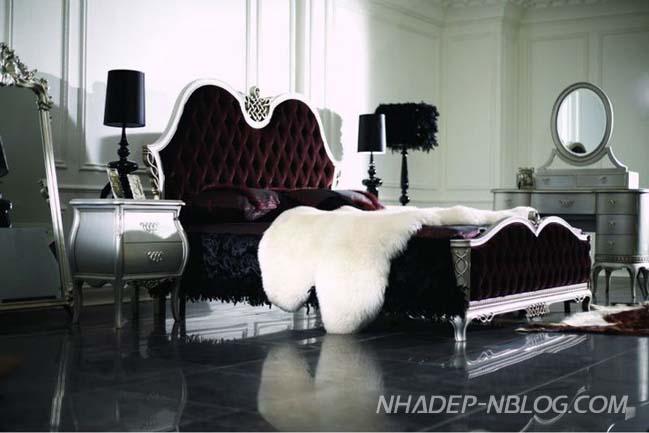 15 thiết kế phòng ngủ cổ điển sang trọng