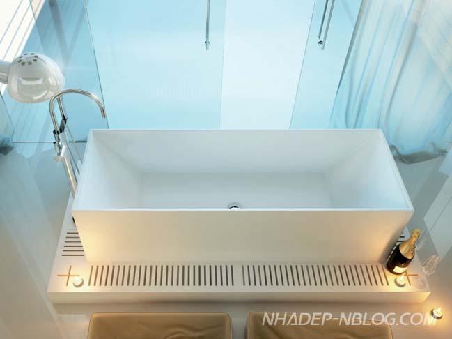 Những mẫu thiết kế phòng tắm sang trọng đẳng cấp