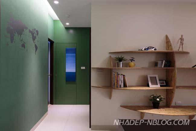 Mẫu thiết kế nhà đẹp lấy cảm hứng từ thiên nhiên
