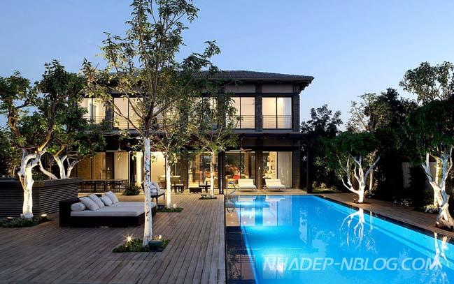 Cùng ngắm biệt thự đẹp tại Israel