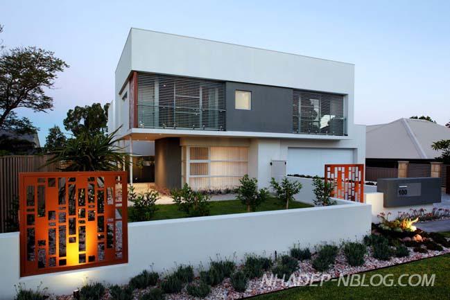 Biệt thự đẹp hiện đại tại Tây Úc