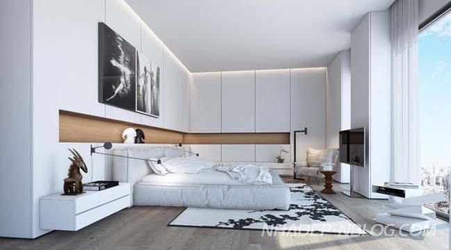 Căn hộ chung cư với không gian sang trọng và thoáng mát