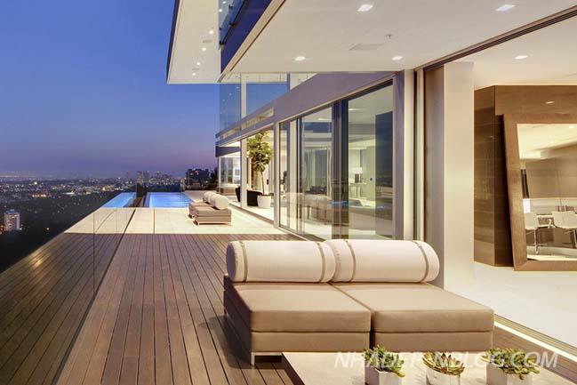 Thiết kế biệt thự đẹp sang trọng tại Hollywood