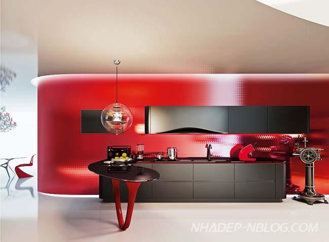 Thiết kế nhà bếp đẹp mang linh hồn siêu xe Ferrari