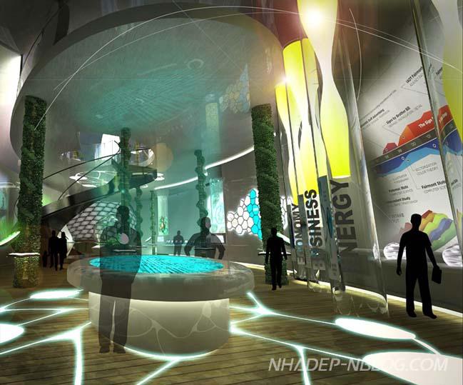 Thiết kế kiến trúc ấn tượng của Malaysia tại Expo 2015