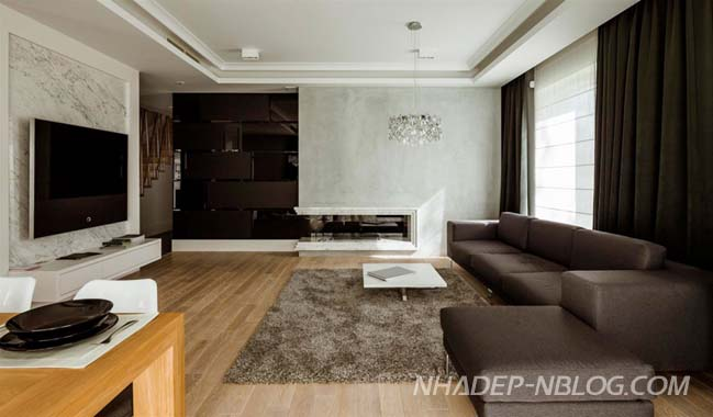 Mẫu nhà đẹp 2 tầng với thiết kế đơn giản sang trọng