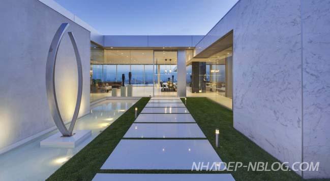 Thiết kế biệt thự sang trọng tại California