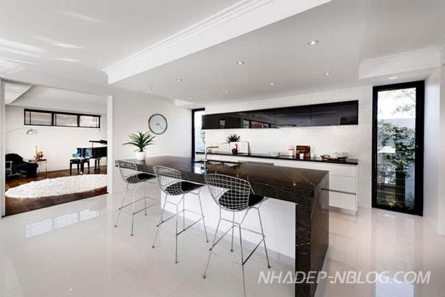 Biệt thự đẹp với thiết kế đương đại tại Australia