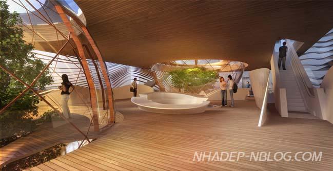 Thiết kế kiến trúc đẹp của Azerbaijan tại Expo 2015