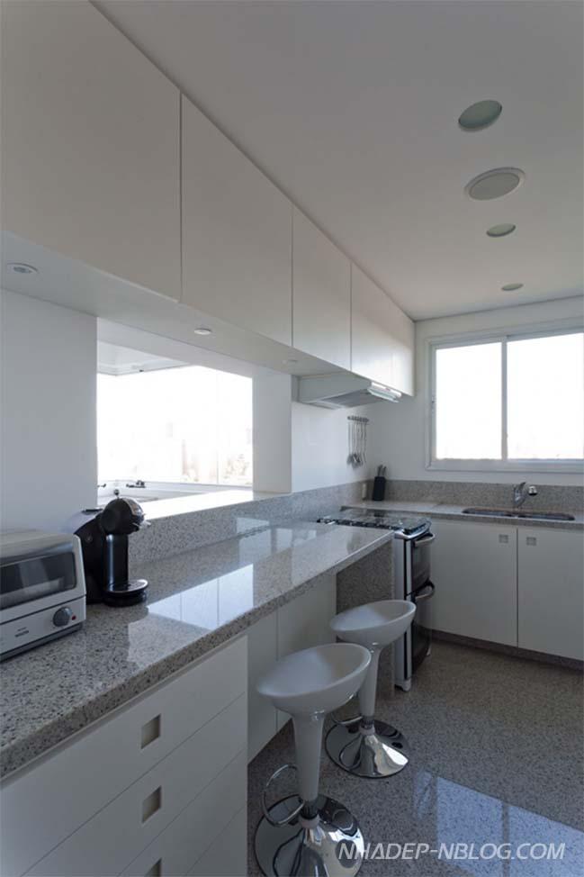 Thiết kế nội thất chung cư với những tông màu trầm ấm