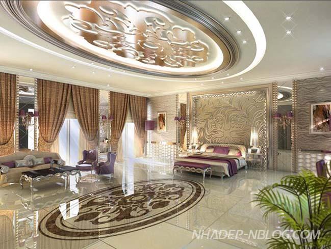10 mẫu thiết kế nội thât phòng ngủ sang trọng