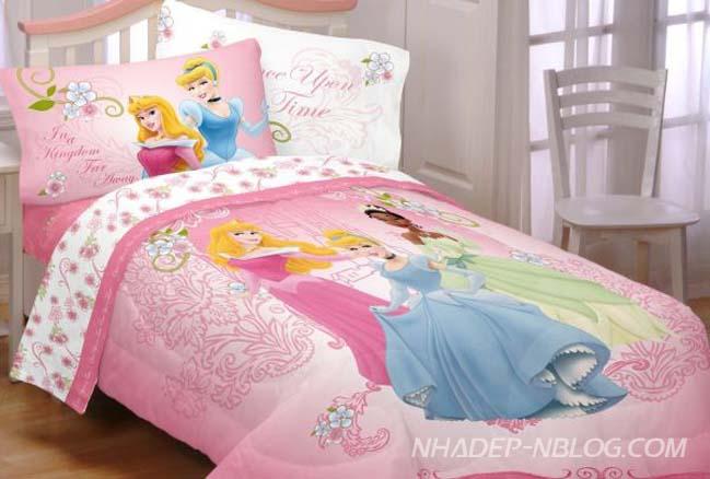 25 nội thất phòng ngủ với chủ đề công chúa và thiên thần