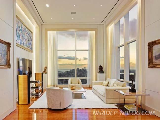 Căn hộ penthouse siêu sang tại New York