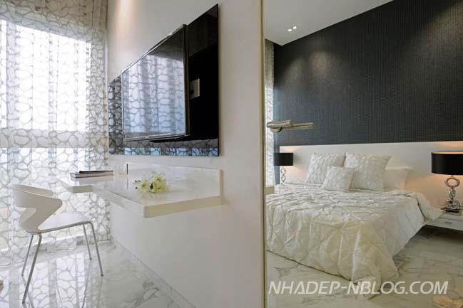 Mẫu căn hộ cao cấp sang trọng tại Ấn Độ