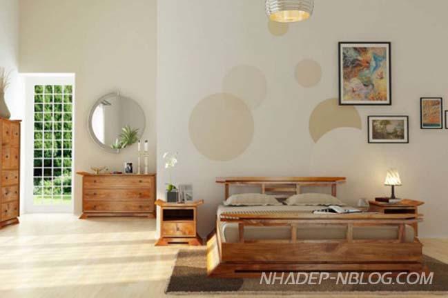 Thiết kế nội thất phòng ngủ theo phong cách Nhật Bản