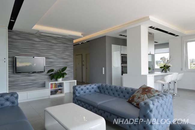 Mẫu căn hộ cao cấp với thiết kế trang nhã