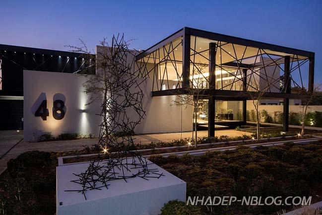 Biệt thự đẹp pha trộn giữa nghệ thuật và kiến trúc