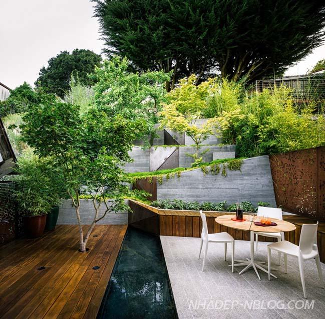 Thiết kế sân vườn hiện đại ấn tượng