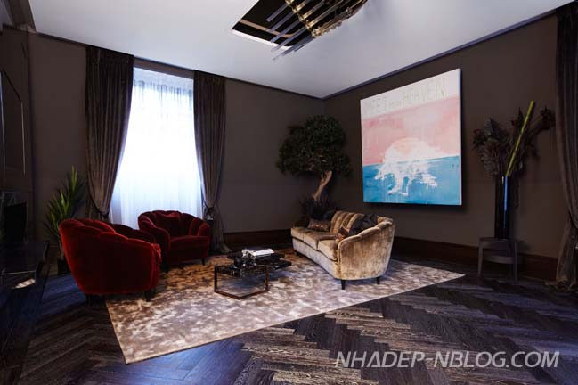 Ngắm penthouse với phong cách Châu Âu sang trọng