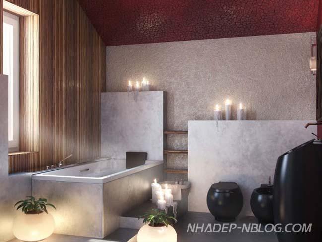 19 mẫu nội thất phòng tắm với cảm giác thư giãn