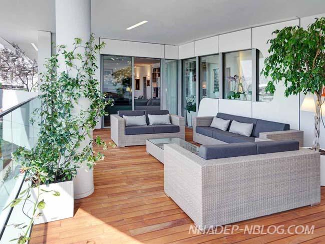 Thiết kế nội thất căn hộ cao cấp tinh tế và thanh lịch