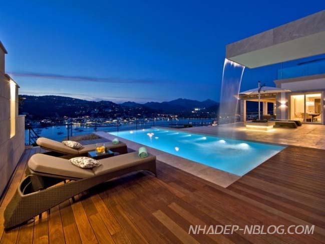 Mẫu biệt thự đẹp như mơ tại Tây Ban Nha